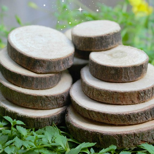 Small Wood Cookies – Fairy Garden Play