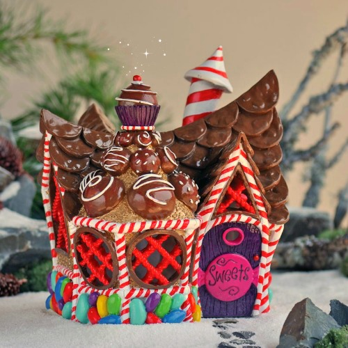candy garden. The Candy Cottage For Your Fairy Garden