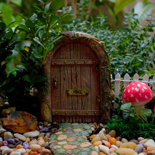 Fairy door mystical fairy door resin fairy door for Fairy doors au