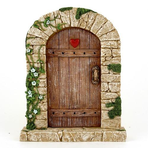 Magic Heart Fairy Door  sc 1 st  Garden Sparkle & Fairy Door|Fairy Garden Door|Magic Heart Fairy Door pezcame.com