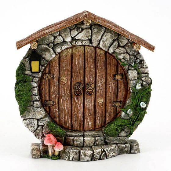 Fairy door round fairy door fairy garden door for Fairy doors au