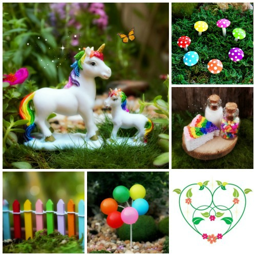 The New Rainbow-Unicorn-Kit-Garden-Sparkle-Australia