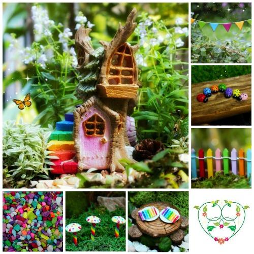 Rainbow Fairy Garden Kit – Garden Sparkle – Limited Edition Fairy Garden Kits – Australia