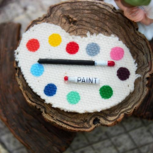 Mini Paint Pallette – Garden Sparkle