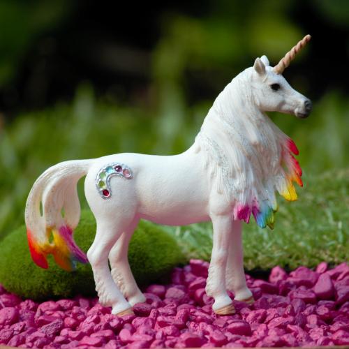 Rainbow Unicorn – Garden Sparkle Fairy Gardens Australia