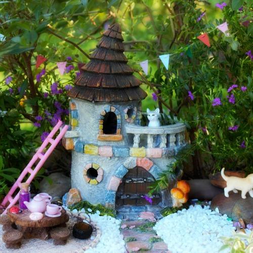 Fairy Castle – Miniature Fairy Garden Castle