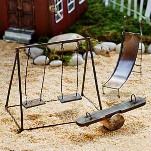 Fairy Playground Set – Fairy Garden Kit