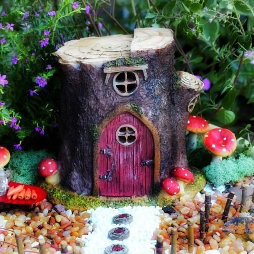 Fairy Houses - Fixed Door
