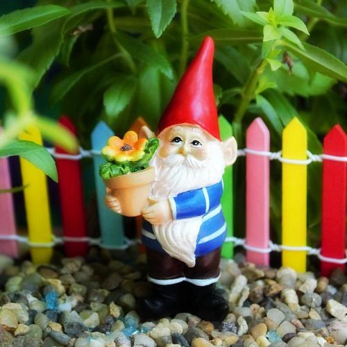 Gardening Gnome U2013 Miniature Gnome