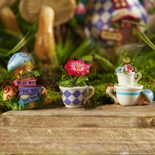 The Wonderland Tea Cup Set – Garden Sparkle – Wonderland Garden