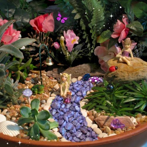 The Purple Fairy Garden Starter Kit – by Garden Sparkle