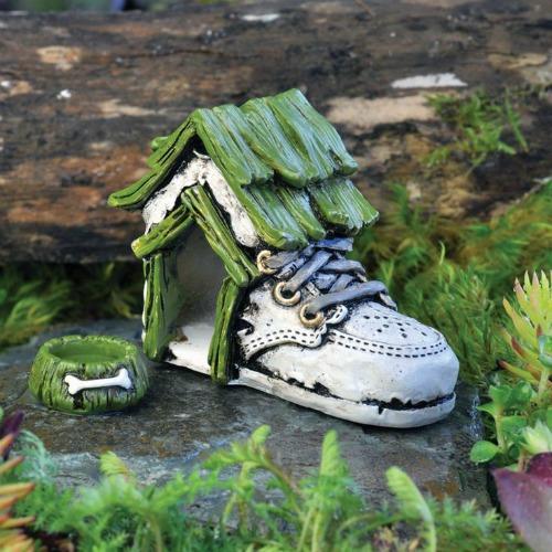 Baby Shoe Dog House Set – Garden Sparkle – Australia