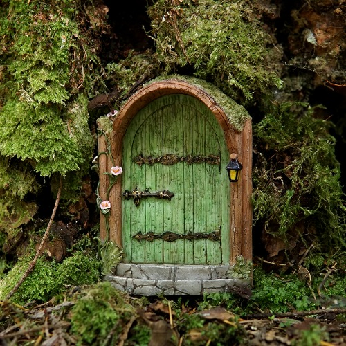 Fairy doors windows archives garden sparkle for Outdoor fairy door