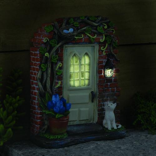 Magical Solar Fairy Door