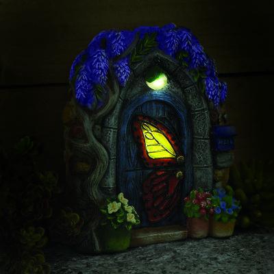Papillon Butterfly Solar Fairy Door